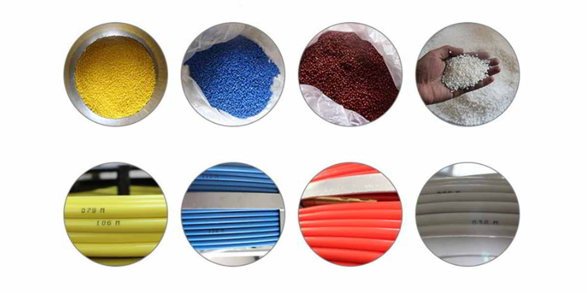 colorful cable wire used high quality raw material